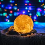 photo-of-a-moon-lamp