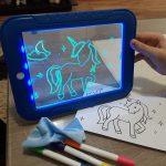 svetleća tabla za crtanje